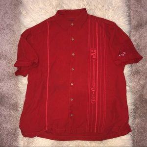 Tommy Bahama RED SOX Baseball MLB 100% silk Shirt